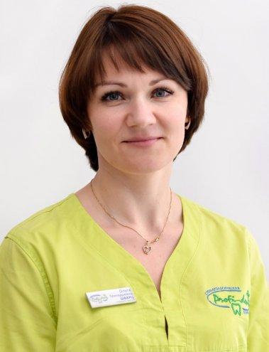 Шварц Ольга Геннадьевна - стоматолог-терапевт первой квалификационной категории